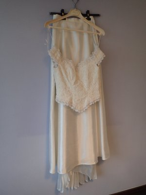 Hervé léger Wedding Dress cream