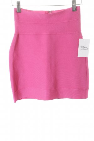 Hervé léger Stretchrock pink Street-Fashion-Look