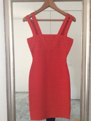 HERVE LEGERE Kleid UNGETRAGEN (Größe S) (Farbe: rot)