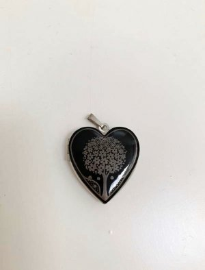 Freywille Pendant black-silver-colored