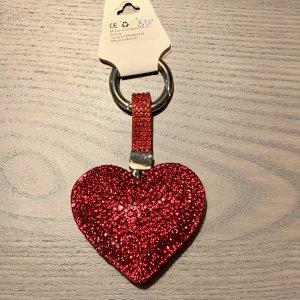 fashion jewelery Porte-clés rouge-rouge foncé