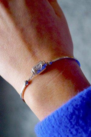 Herz-Armkette aus Silber