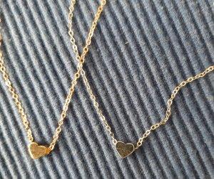 Gouden ketting zilver-goud