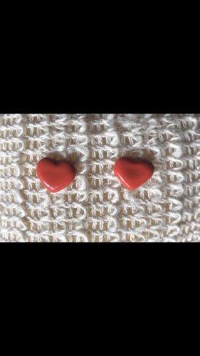 Herz Ohrringe handmade