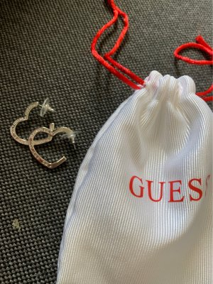 Guess Ear Hoops silver-colored