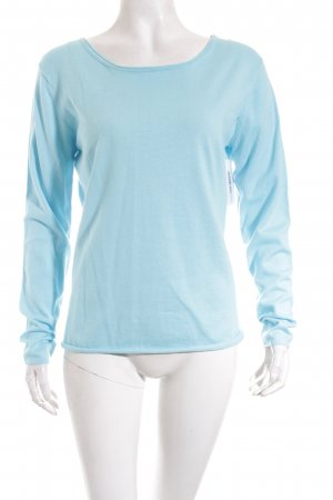 Herzblick Pullover hellblau Casual-Look