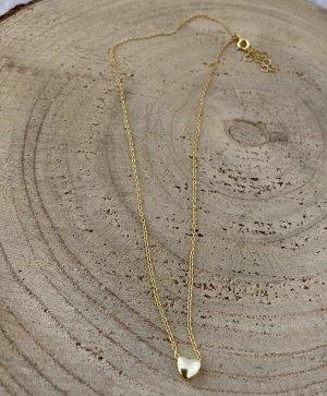 Silver Gold Chain gold-colored