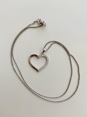 amor Zilveren ketting zilver