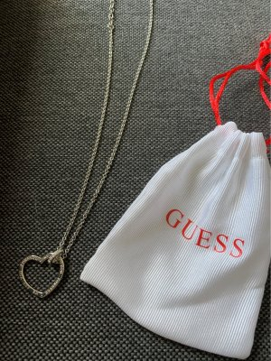 Guess Necklace silver-colored