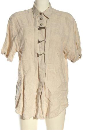 Hess Frackmann Shirt met korte mouwen room elegant