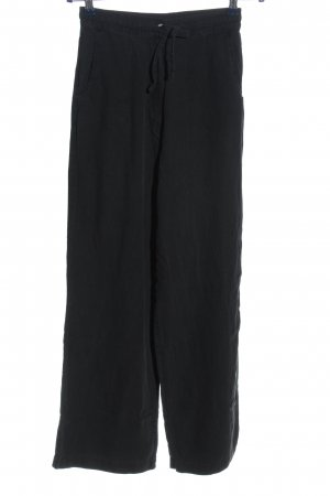 Hess Natur Baggy Pants schwarz Casual-Look