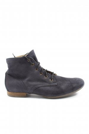 Hess Natur Lace-up Booties black casual look