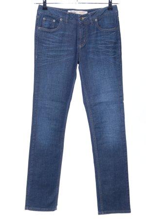 Hess Natur Straight-Leg Jeans blau Casual-Look