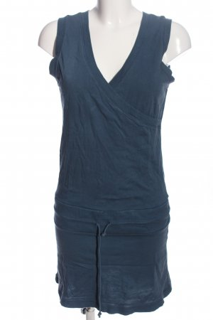 Hess Natur Knitted Dress blue casual look