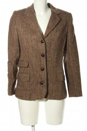 Hess Natur Blazer in tweed stampa integrale stile professionale