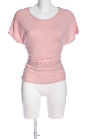 hessnatur Kurzarm-Bluse pink Casual-Look