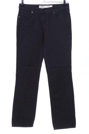 hessnatur Pantalone di lino nero stile casual