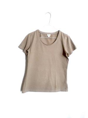 Hessnatur Öko T-Shirt Gr. 34 Ocker Sandfarben