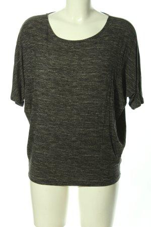 hessnatur Oversized Shirt hellgrau meliert Casual-Look