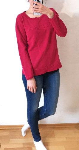 Hessnatur Pullover Gr. 40/42 Pink 100% Baumwolle ökologisch nachhaltig