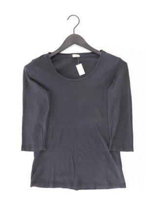 hessnatur Shirt Größe 36 3/4 Ärmel grau aus Baumwolle