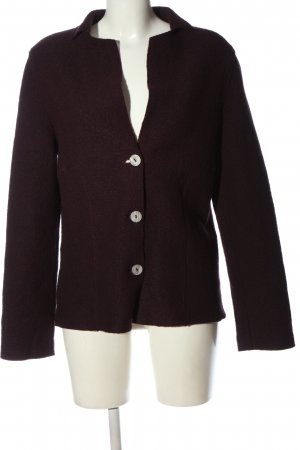 hessnatur Knitted Blazer brown casual look
