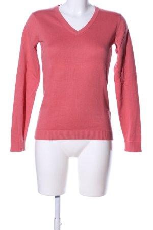 hessnatur Strickpullover pink Business-Look