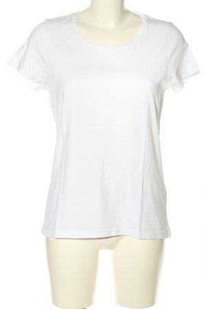 hessnatur T-Shirt weiß Casual-Look
