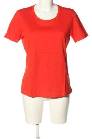 hessnatur T-Shirt rot Casual-Look