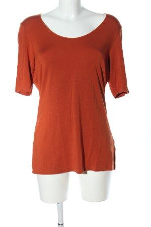 hessnatur T-Shirt hellorange Casual-Look