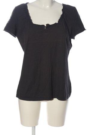 hessnatur U-Boot-Shirt braun Casual-Look