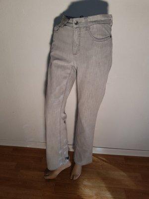 Heute Sale!! Mac Jeans Angela Lafayette 40 / 30 hellgrau Röhre, Strech, High waist