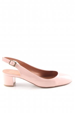 Heyraud Slingback Pumps pink casual look