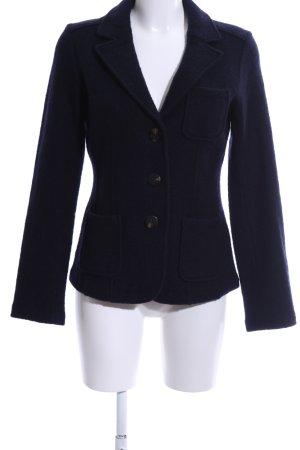 Heyton Woll-Blazer blau Business-Look