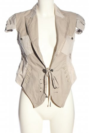 HICH Traditional Vest natural white-light grey casual look