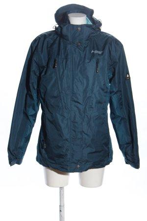 hickory Outdoorjacke blau Casual-Look