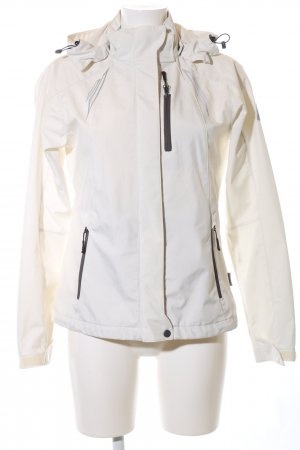 hickory Outdoorjacke wollweiß Casual-Look Polyester