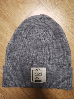 Chapeau en tissu gris