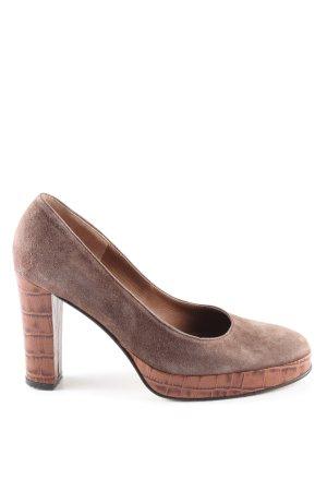 Hiegl High Heels braun Casual-Look