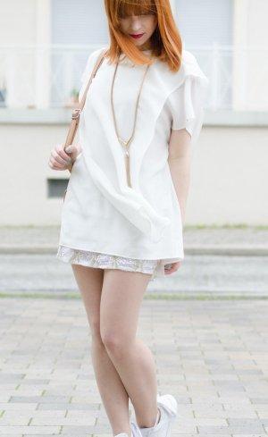 Hien Le Blusa in seta bianco sporco Seta