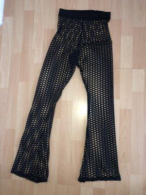 American Vintage Pantalon taille haute noir
