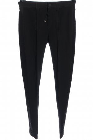 High Pleated Trousers black business style