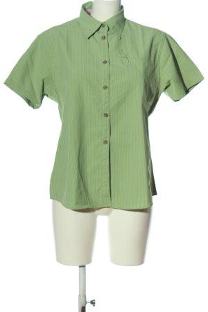 High Colorado Camisa de manga corta verde-blanco look casual