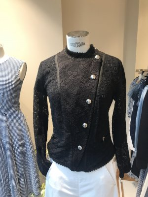 High - Everday Couture by Claire Campbell Biker Jacket black