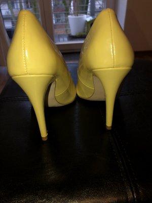 Zara Tacco alto giallo pallido