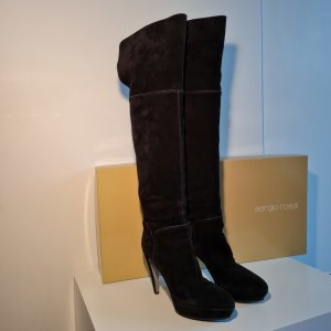 High Heel Leather Boots - Sergio Rossi