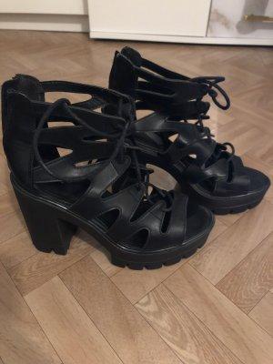 Catwalk Sandalias con plataforma negro