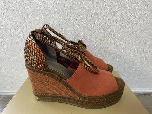 Tamaris Wedge Sandals apricot