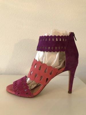 High Heel Sandalette Gr  40 aus Spanien