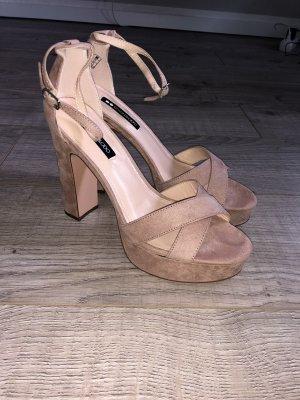 High Heel Sandalette in Rosé
